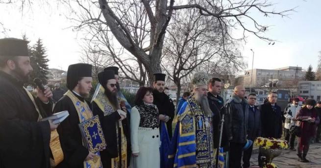 Председателят на Народното събрание Цвета Караянчева присъства на тържествения Богоявленски