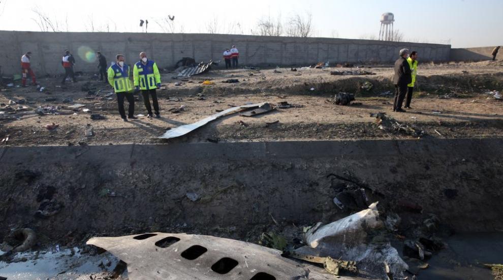 Украйна държи важен запис за сваления самолет в Иран