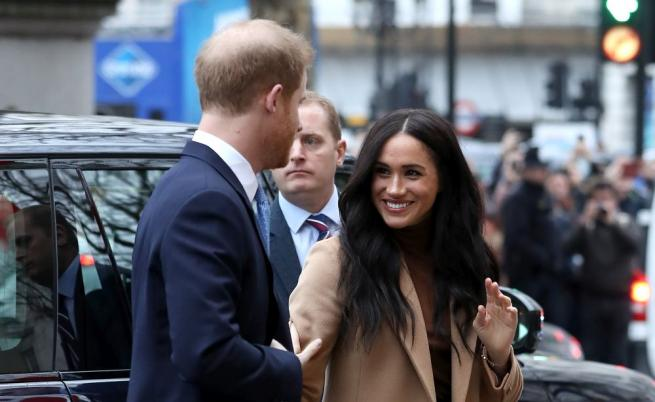 Принц Хари и Меган отново в Лондон