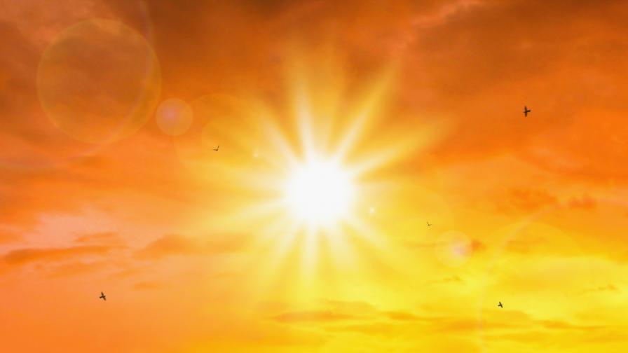 Втората най-гореща година в историята на света