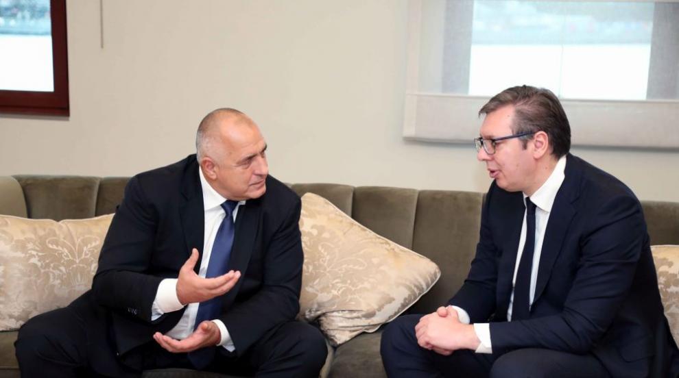 Вучич идва в България по покана на Борисов