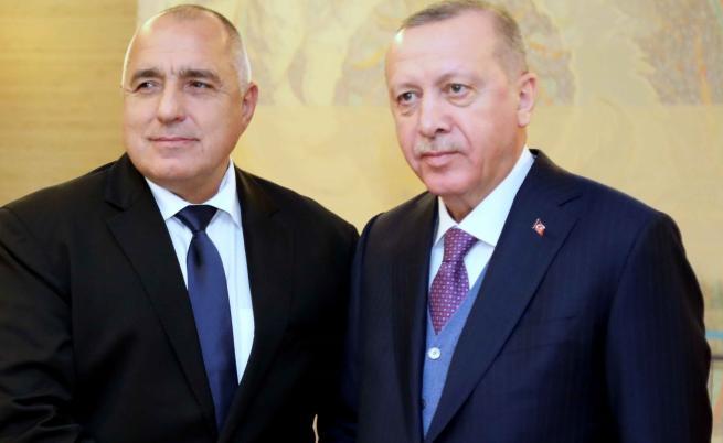 Борисов пред Ердоган: Само мирът може да реши проблемите