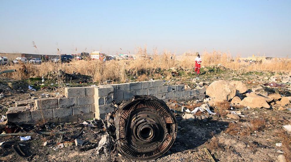 Иран няма да изпраща в Украйна черните кутии от...