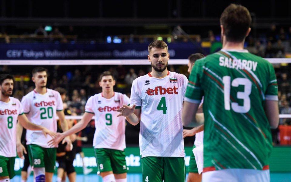 България ще играе квалификация в Израел за Евроволей 2021 при мъжете