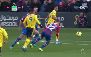 Кристъл Палас вече губи от Арсенал