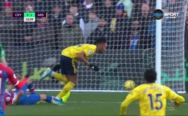 Кристъл Палас - Арсенал 0:1 /първо полувреме/