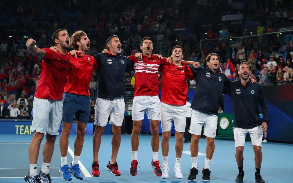 Отборът на Сърбия надделя над Испания с 2:1 победи и