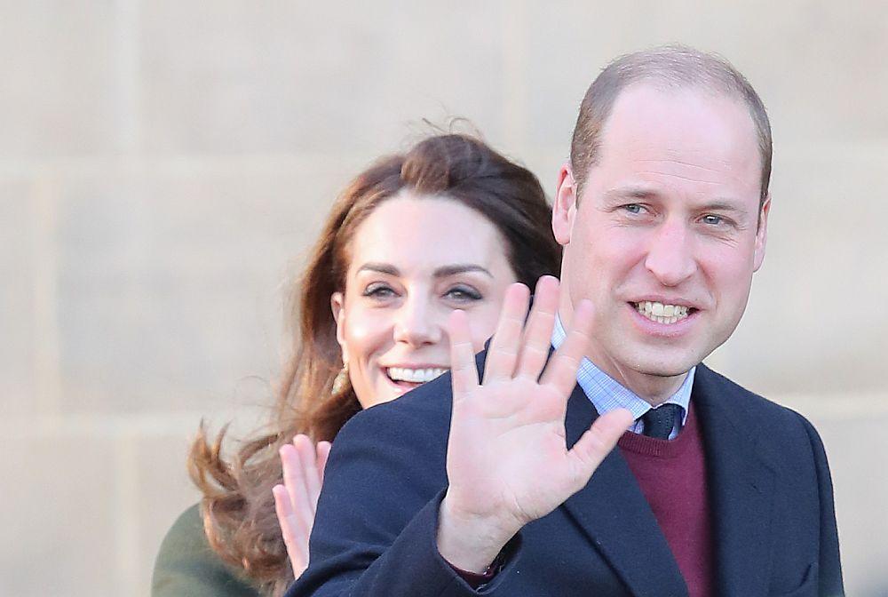 Принц Уилям и херцогиня Катрин