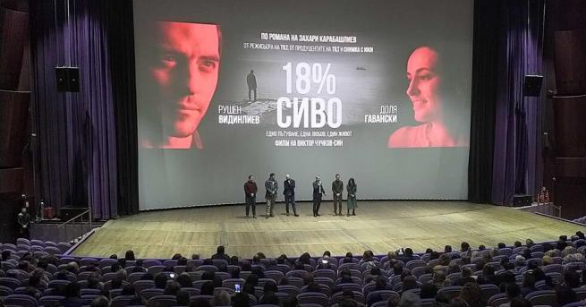 """Вчера вечерта се проведе първата премиера на """"18% сиво"""" в"""