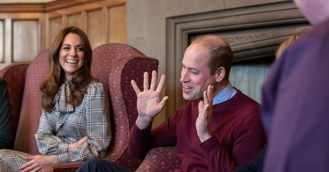 Преди дни херцогът и херцогинята на Кеймбридж посетиха като първа