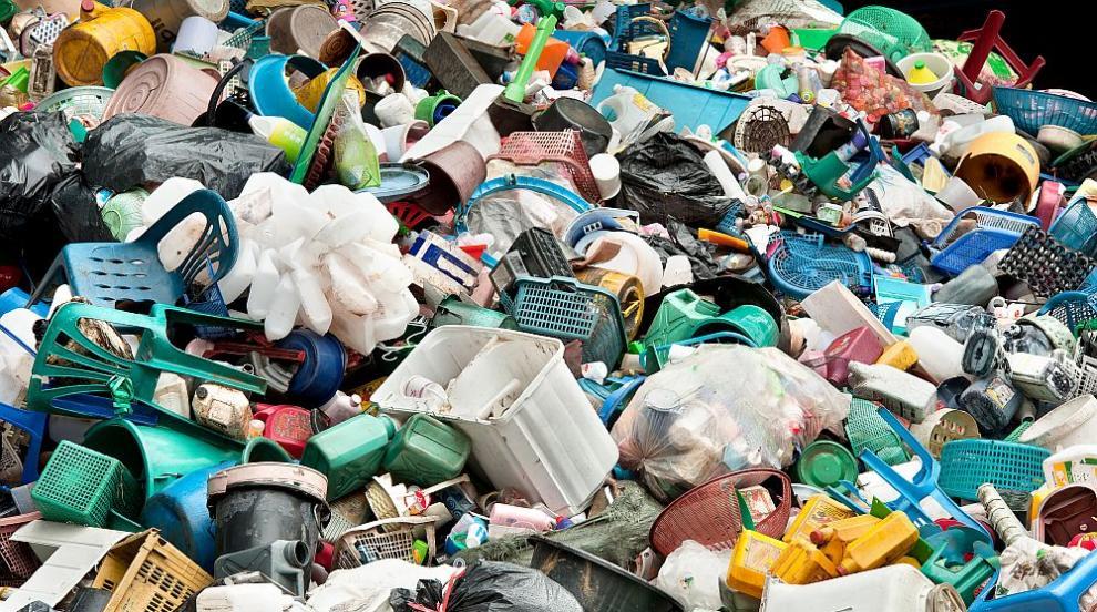 Хванаха камион, пълен нелегален италиански боклук в Монтана