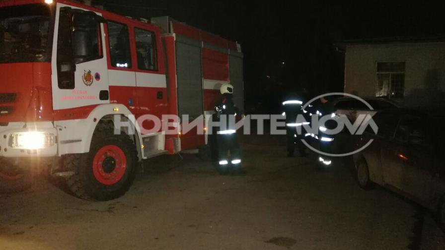 Сигнал за пожар в болница в Горна Оряховица