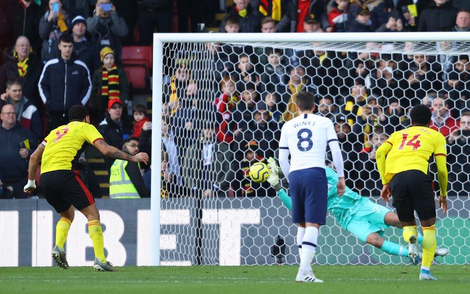 Отборите на Уотфорд и Тотнъм завършиха при резултат 0:0 на