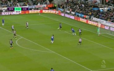 Нюкасъл - Челси 0:0 /първо полувреме/