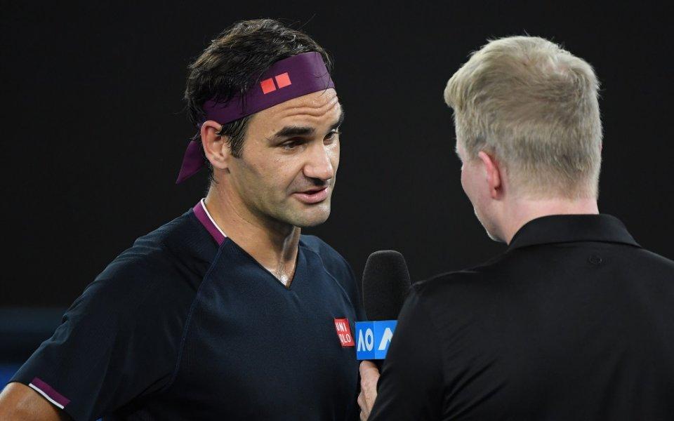 20-кратният победител на турнири от Големия шлем Роджър Федерер установи