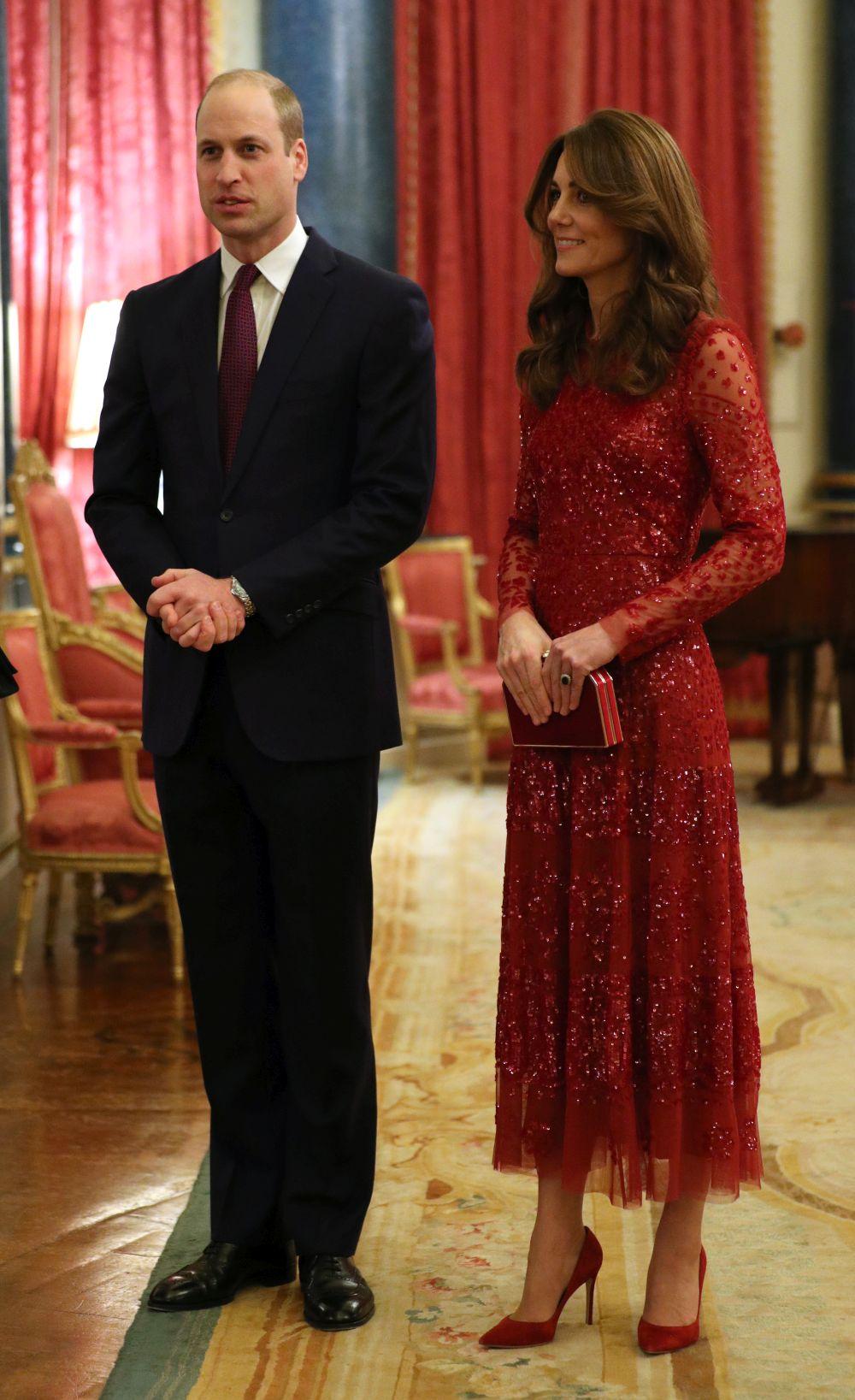Принц Уилям и Кейт дадоха прием в Уесекс