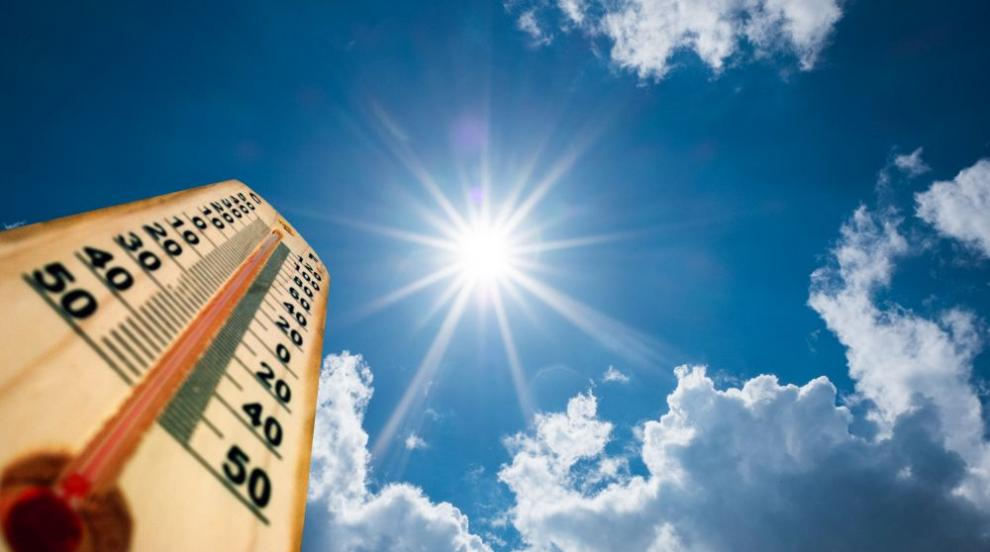 В сряда температурите скачат, ще преобладава слънчево време