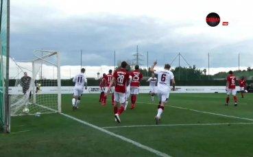 Бомба във вратата на ЦСКА даде втори гол за Нюрнберг