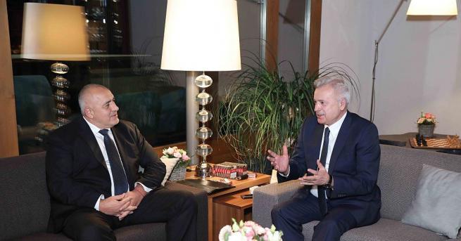 Министър-председателят Бойко Борисов проведе среща с президента на