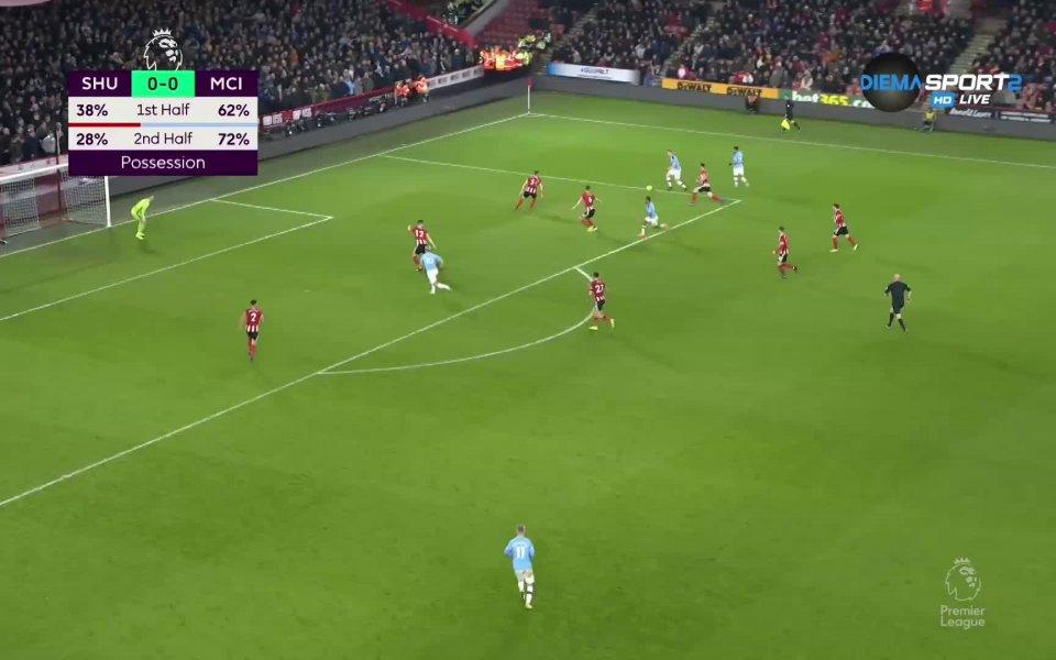 Шампионът Манчестър Сити завоюва своята 16-а победа през сезона във
