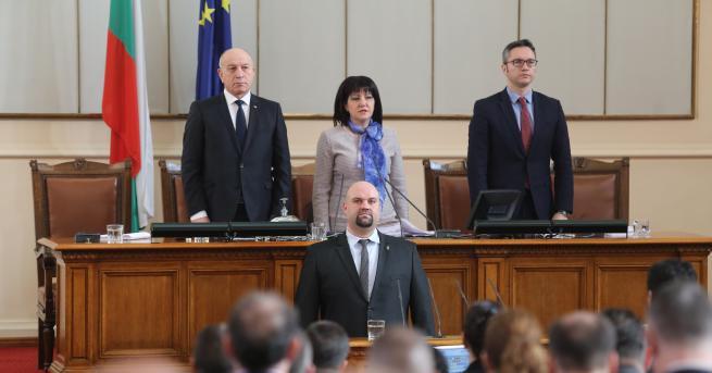 """Нов депутат от групата на """"Обединени патриоти"""" влезе в парламента."""