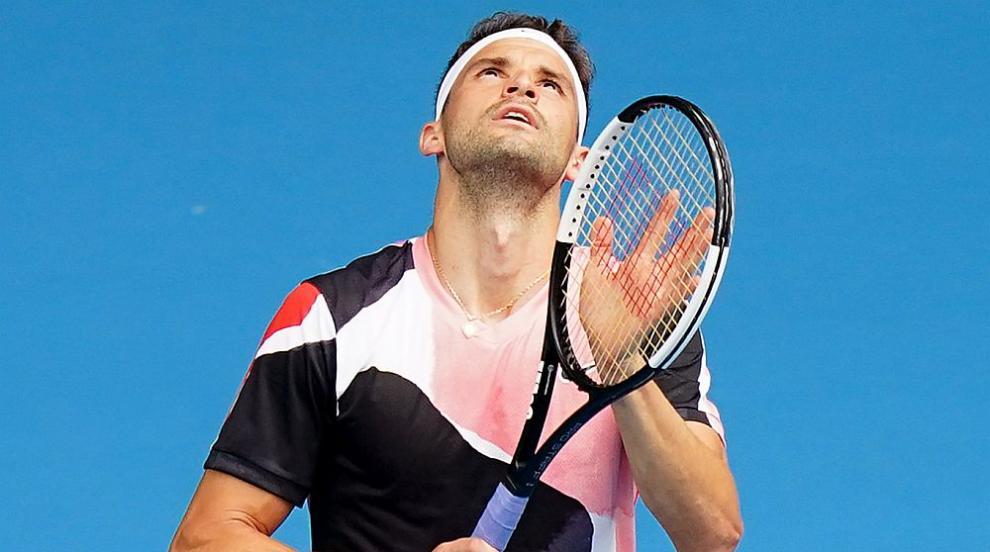Григор Димитров отпадна от Australian Open след тежък мач