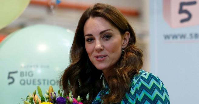 Кейт, съпругата на британския принц Уилям, започна вчера 24-часова обиколка