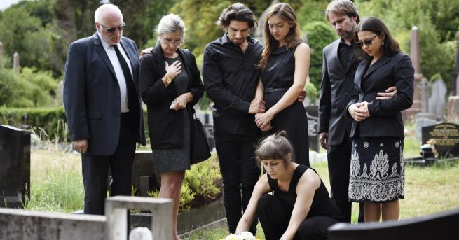 Любопитно Нещата, които да не правите на погребение Понякога в