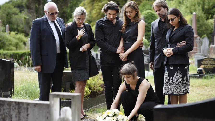 Нещата, които да не правите на погребение