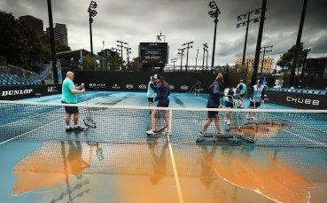 Кална стихия връхлетя Australian Open