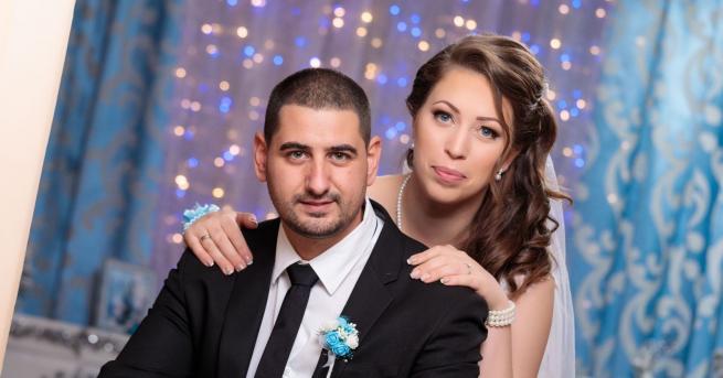 Младоженците Радина и Явор Вълкановиотказаха цветя на сватбата си, за