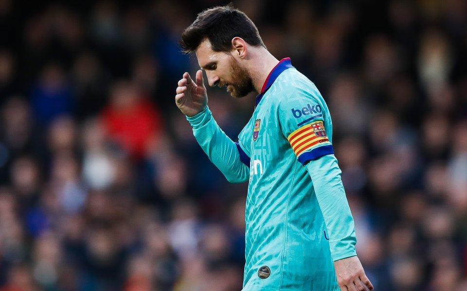 След скандала, който се разрази в отбора на Барселона между