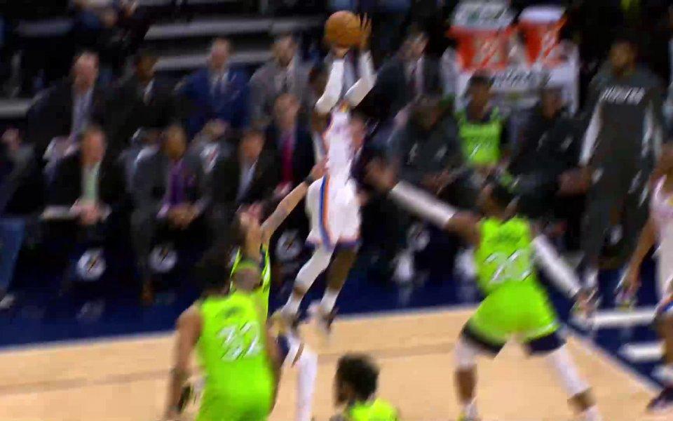 Вижте най-интересните моменти от мачовете в НБА тази нощ -
