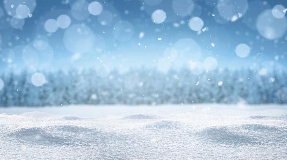 Първи сняг в София! На Витоша заваля