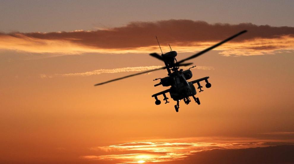 Полицейски хеликоптер се разби на летището в Скопие