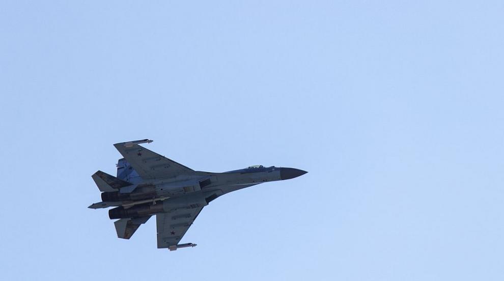 Изтребител Су-30 се разби в Алжир