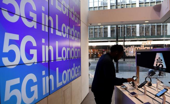 Великобритания допусна Хуауей до 5G мрежите си, но при определени ограничения