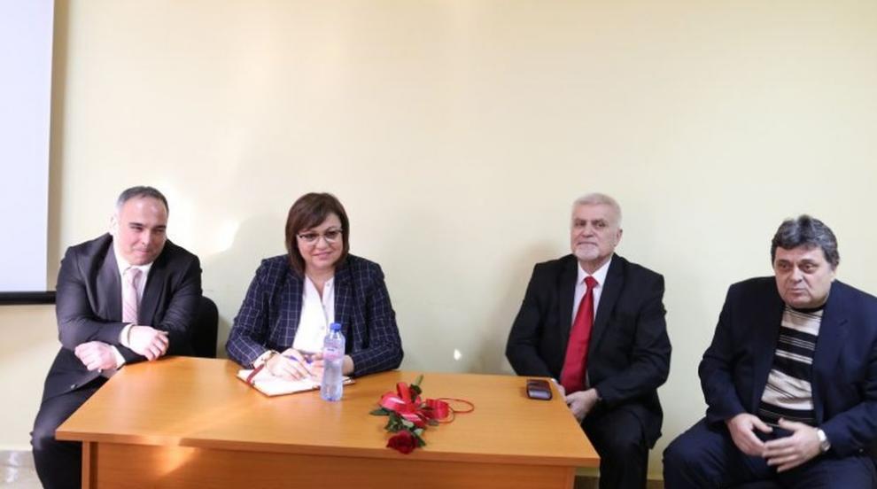 Нинова: Оставането на кабинета Борисов е гаранция за нови и нови кризи