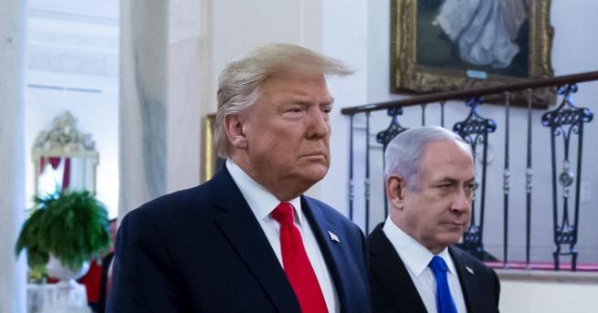 Белият дом представи днес картата на израелската и бъдещата палестинска