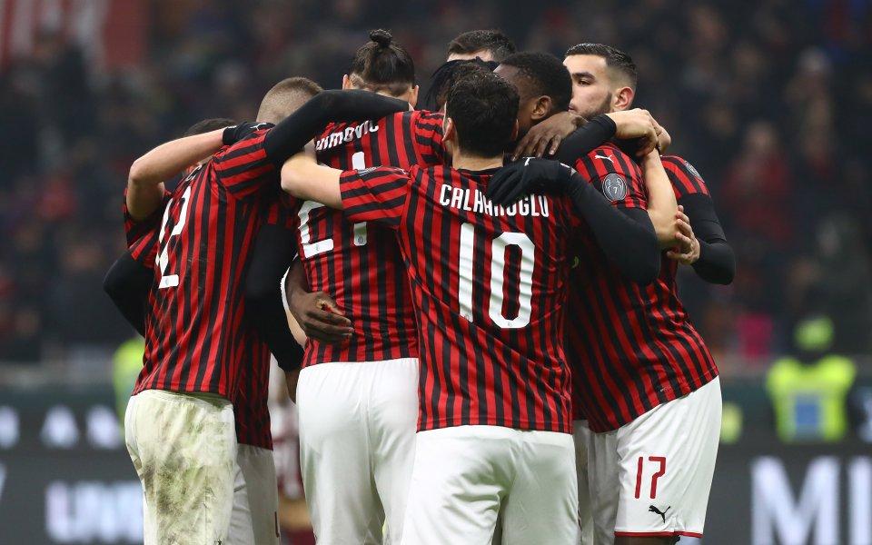Отборът на Милан се наложи с 4:2 над в среща