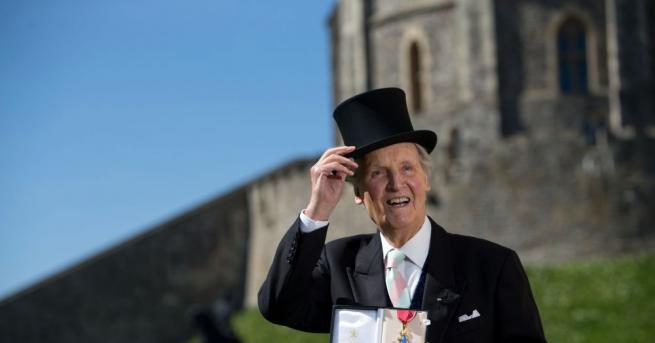 На 97-годишна възраст е починал известният британски актьор, радио- и