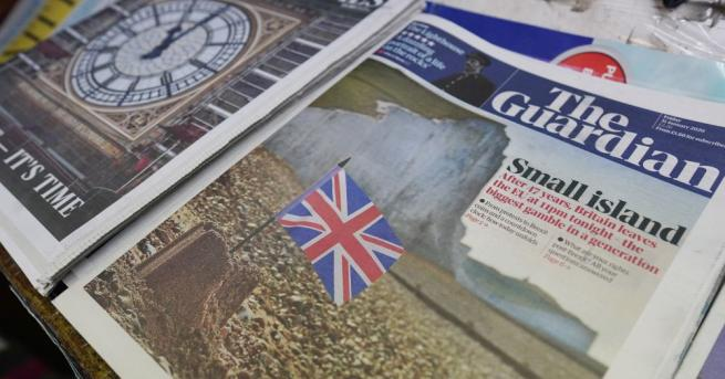 Въодушевени или огорчени, британските вестници се отнасят към Брекзит както