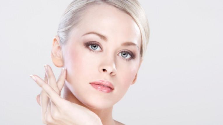 жена лице кожа очи козметика