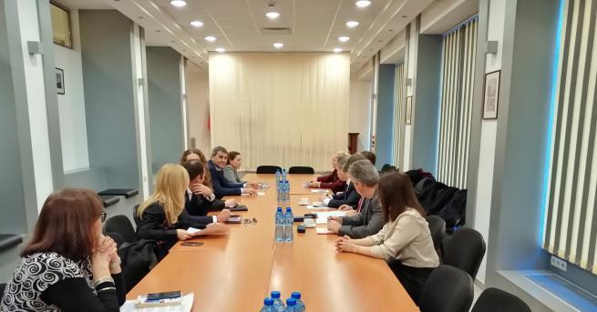Съветът за партньорство към Висшия съдебен съвет (ВСС) проведе първото