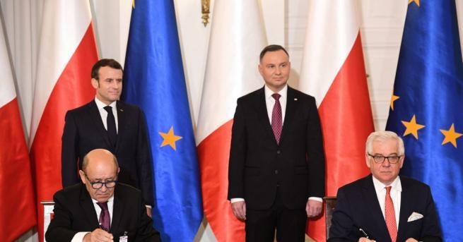 Варшава и Париж се договориха да възстановят т.нар. Ваймарски триъгълник