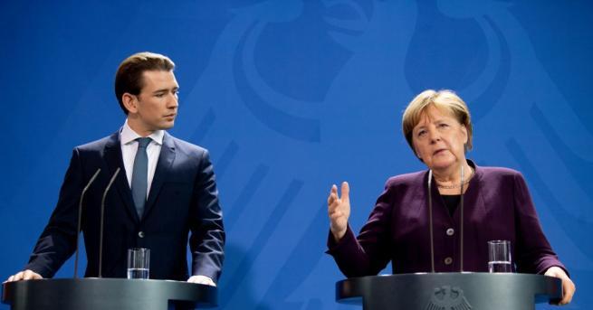 Германският канцлер Ангела Меркел заяви в понеделник след среща с