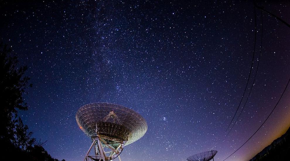 Срути се един от най-големите телескопи в света...