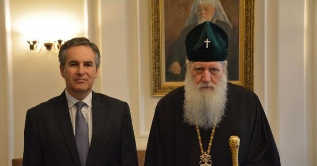 Негово светейшество българският патриарх Неофит прие днес Алехандро Поланко Мата,