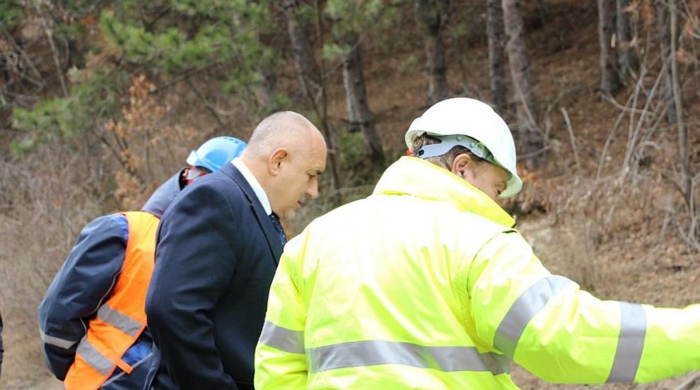 Борисов инспектира Околовръстното (СНИМКИ/ВИДЕО)