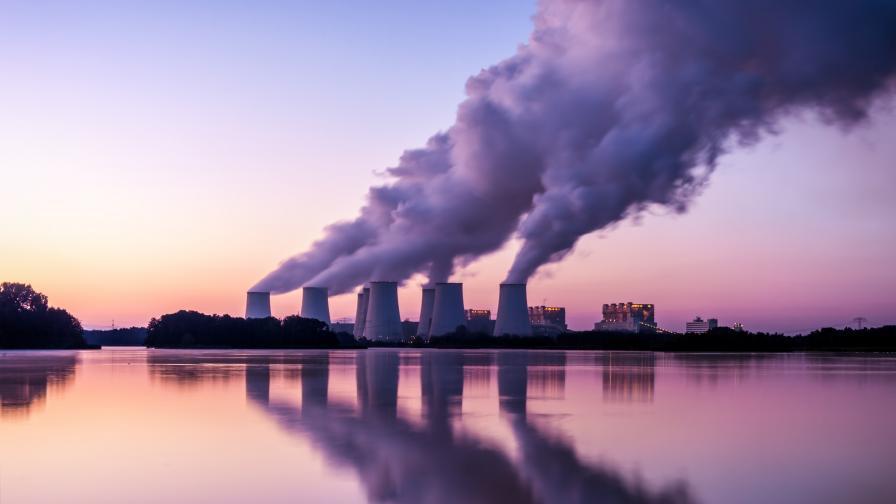 Рекорд на въглеродния двуокис в атмосферата